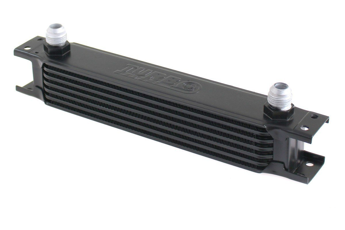 Chłodnica Oleju TurboWorks 7-rzędowa 260x50x50 AN10 black - GRUBYGARAGE - Sklep Tuningowy